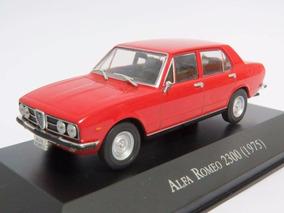 Carros Inesquecíveis Do Brasil Altaya Alfa Romeo 2300 1975