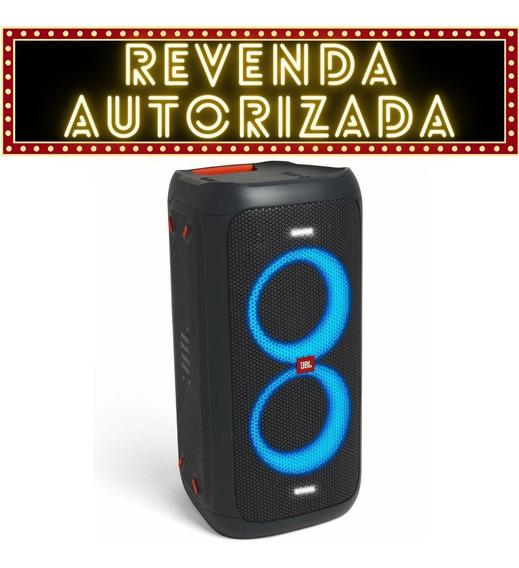 Caixa De Som Jbl Partybox 100 Portátil Bluetooth Original Nf