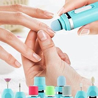 Kit Manicure Profesional Portatil 9 Accesorios