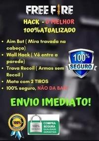 Hack Free Fire 0% De Banimento + 200 Diamantes Grátis!!