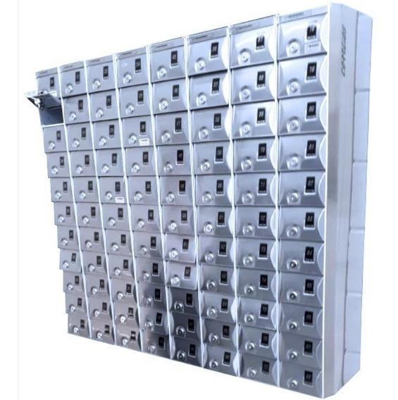 Armário Caixa Postal Modular Porta-objetos Celular Carteira