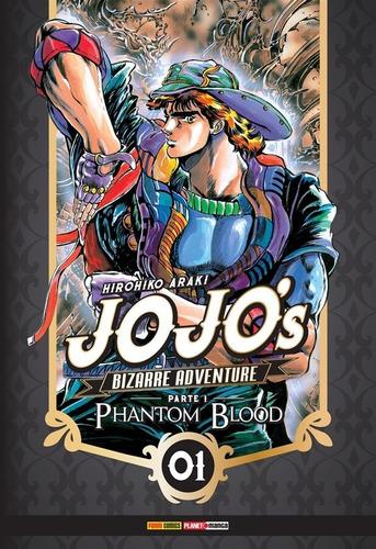 Jojo's Bizarre Adventure Phantom Blood 1! Panini! Lacrado