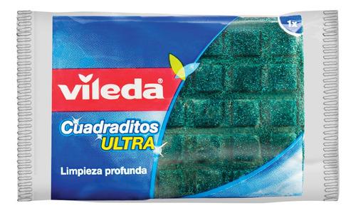 Vileda Esponja De Limpieza Cuadritos Ultra