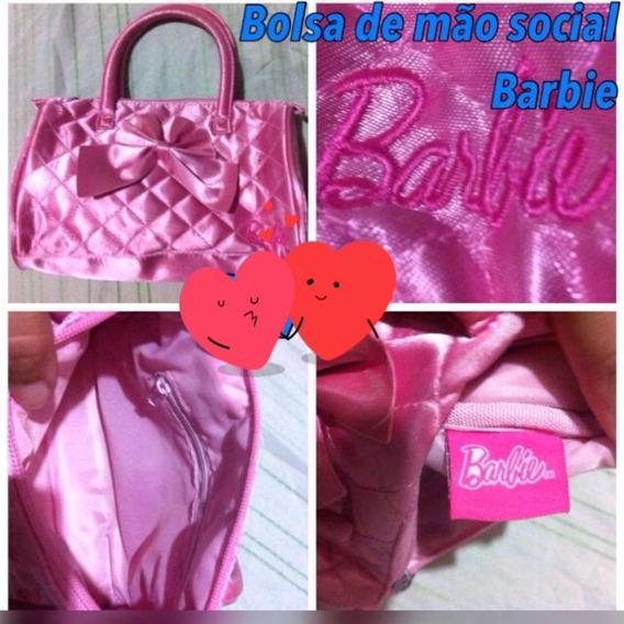 Bolsa De Mão Luxo Da Barbie