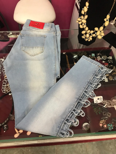 Pantalon De Jeans Abierto En Piernas Mercado Libre