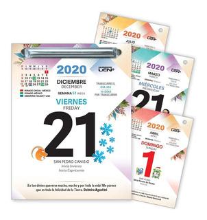 Calendario Len Exfoliador Día Por Día 1 Pieza 2020