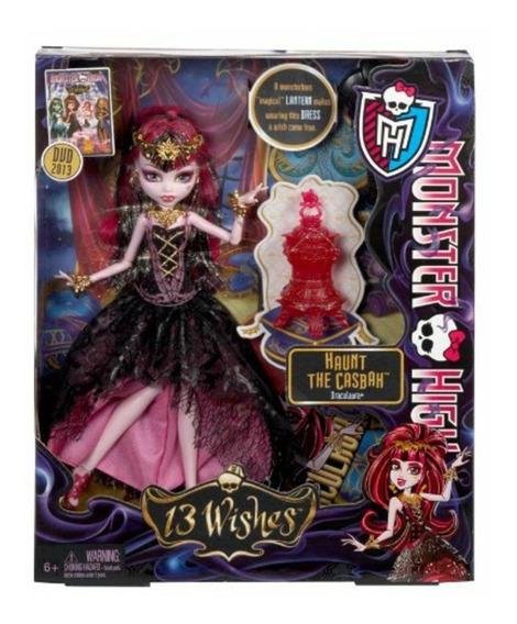 Boneca Monster High 13 Wishes Haunt The Casbah Draculaura