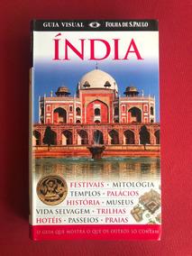 Livro - Índia - Guia Visual - Folha De S. Paulo - Seminovo