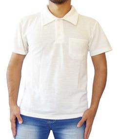 Camisa Polo Várias Cores Masculina Com Bolso Extragrande