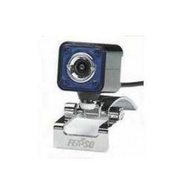 Webcam Feasso C/ Microfone 4mp Faweb-112 Oferta!