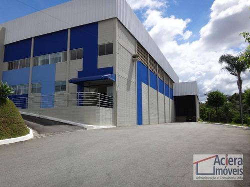 Galpão Para Alugar, 725 M² - Centro - Santana De Parnaíba/sp - Ga0292