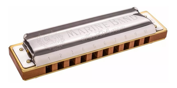 Hohner Armonica Marine Band 1896 Variantes Do Y Sol