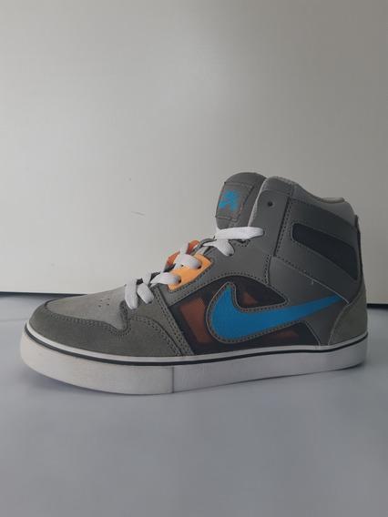 Tênis Coturno Botinha Nike Sb Ruckus 2 Cinza/laranja 5035