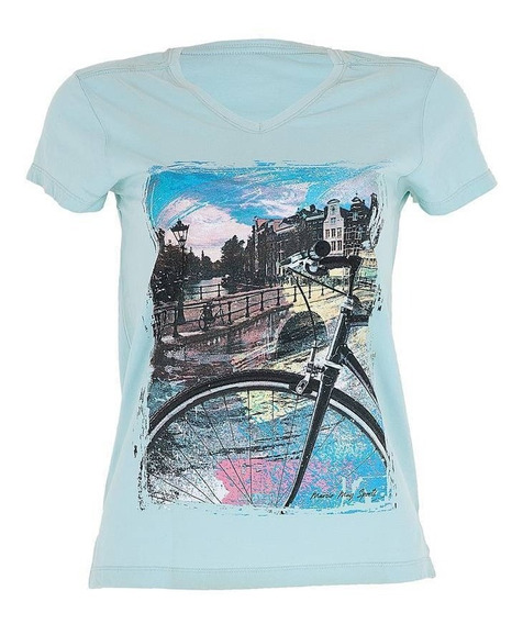 Camiseta Casual Feminina Marcio May Give C/nota Original