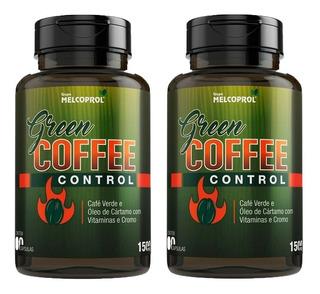 Green Coffee Control Café Verde - 2x 60 Cápsulas - Melcoprol