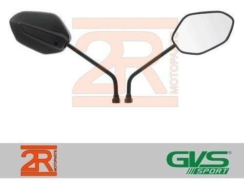 Retrovisor Gvs Moto Honda Nova Cg Titan 150 Par 2014