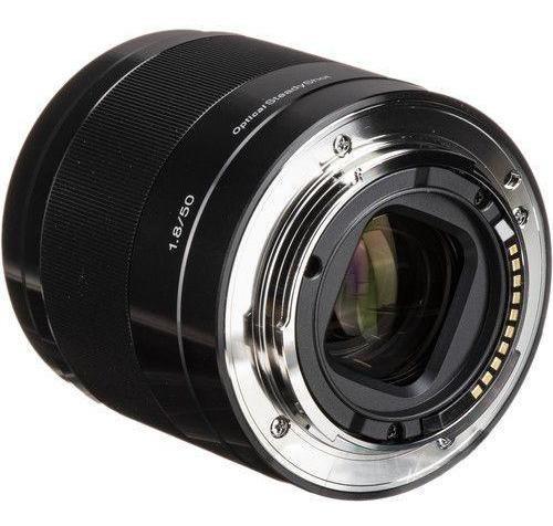 Lente Sony E 50mm F1.8 Oss