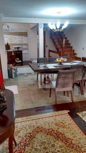Sobrado Com 5 Dormitórios À Venda, 265 M² Por R$ 1.250.000,00 - Ipiranga - São Paulo/sp - So4139