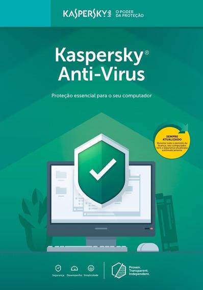 Kaspersky Anti Vírus 3 Usuários Licença 1 Ano Br Download