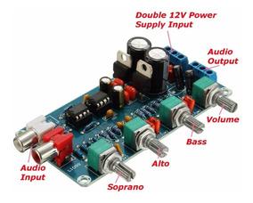 Placa Equalizador Stereo Hi Fi Alta Fidelidade 12v A 18v