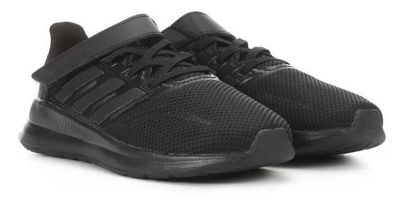 Tênis Infantil adidas Runfalcon C - Preto Orginal C/nota