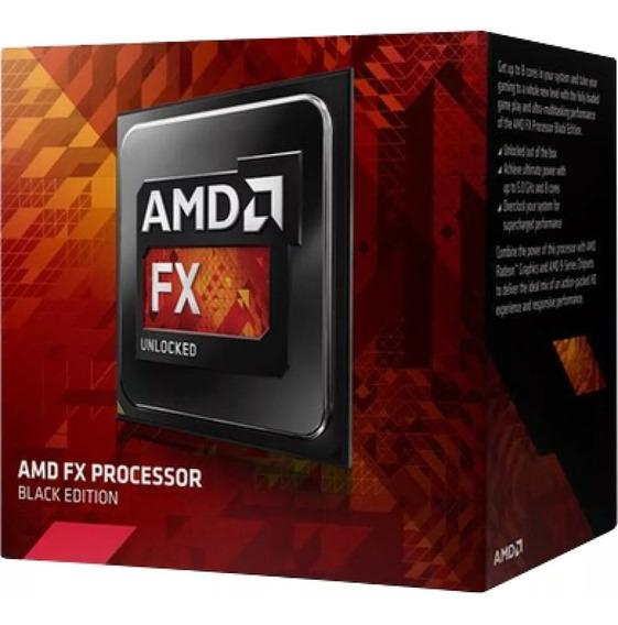 Processador Amd Fx-8350 4.0ghz(4.2ghz Turbo)am3+125w Novo