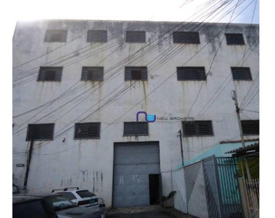 Galpão Para Alugar, 1632 M² Por R$ 10.000/mês - Imirim - São Paulo/sp - Ga0767