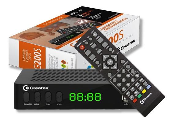 Conversor De Tv Digital Sinal Isdb-t Usb Gravador G200