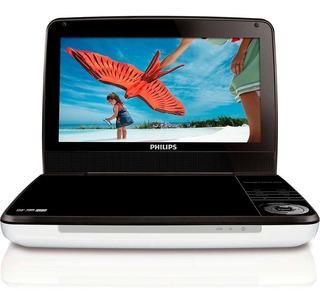 Dvd Portatil Recargable 9 Pulg Multiregion Pd900037 Philips