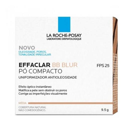 Imagem 1 de 1 de Effaclar Bb Blur Fps 25 La Roche Posay - Pó Compacto Médio