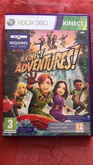 Jogo Xbox 360 - Adventures Kinect
