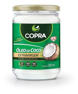 Óleo De Coco Copra 500ml Beleza E Saúde