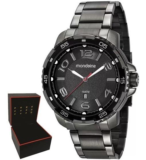 Relógio Mondaine Masculino Original Garantia Nf 53703gpmvse1