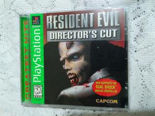 Ps1 Resident Evil Directors Cut En Exelente Estado