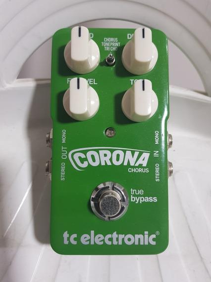 Pedal Tc Electronic Corona Chorus - Super Conservado!!