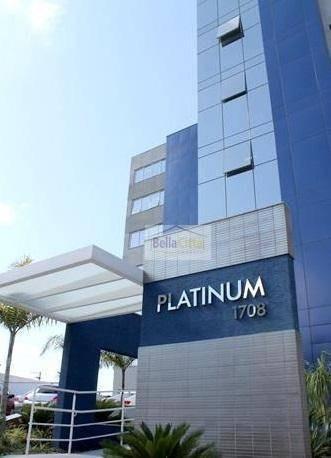 Sala Para Venda Ou Locação No Edifico Platinum- Centro - Mogi Das Cruzes/sp - Sa0015