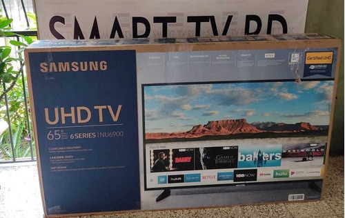 Smart Tv Samsung De 65 Pulgadas Series 6 Uhd 829-426-3040