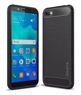 Forro Ajota Fibra De Carbono Motorola Moto C Plus
