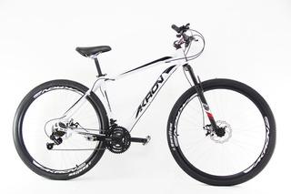 Bicicleta Akron Aro 29 Freios A Disco 21v Kit Shimano+brinde