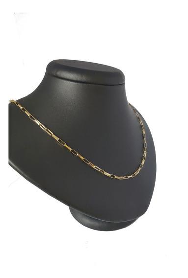 Cordão Tijolinho 7 Gramas Ouro 18kl 750