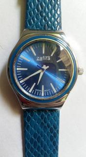 Reloj De Pulsera Malla Cuero Analogo Z.644
