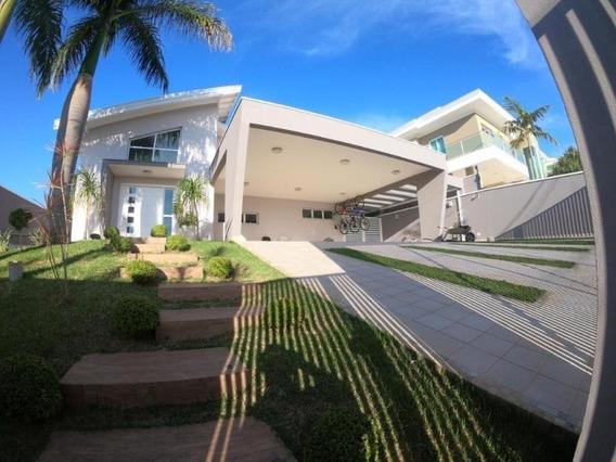Linda Casa Térrea Com 4 Suítes À Venda - Jardim Caxambu - Jundiaí/sp - Ca1574 - 34731376