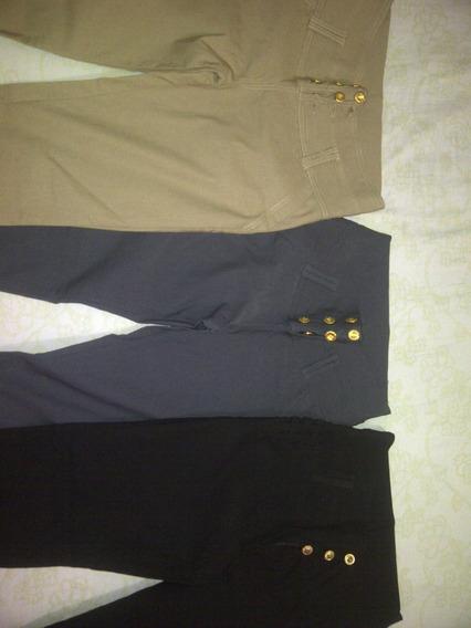 Pantalones De Vestir Para Dama Corte Alto