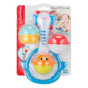Brinquedo Hora Do Banho-infantino Bkids Shoot