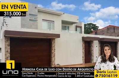 Hermosa Casa En Venta En La Zona De La Santos Dumont
