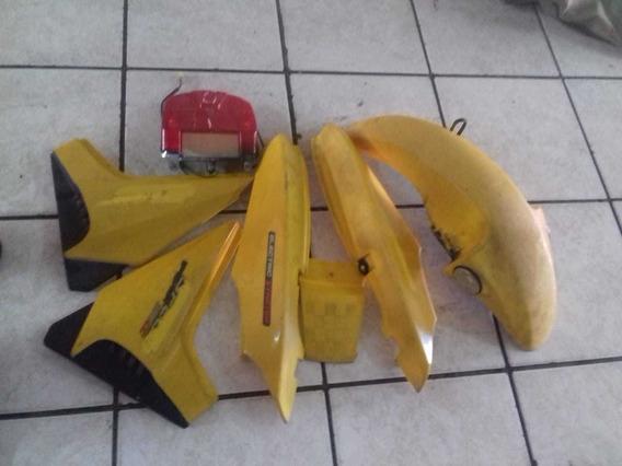 Kit Carenagem Dafra Speed 150 Amarelo