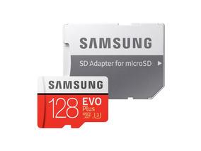 Cartão De Memória 128gb 4k Samsung Evo Plus Embalagem Orig