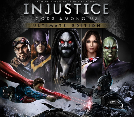 Injustice Gods Among Us Ultimate Ps4 Digital Conta Completa