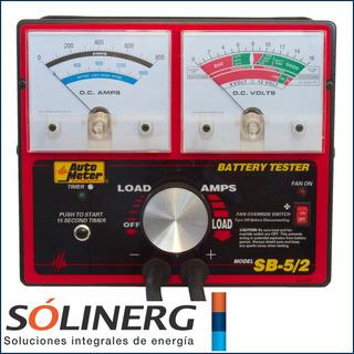 Autometer Analizador De Baterias Modelo: Sb5
