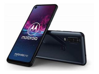 Celular Libre Motorola One Action Gris